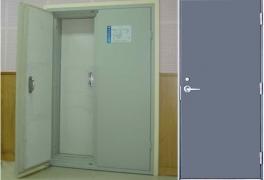 钢质保温门